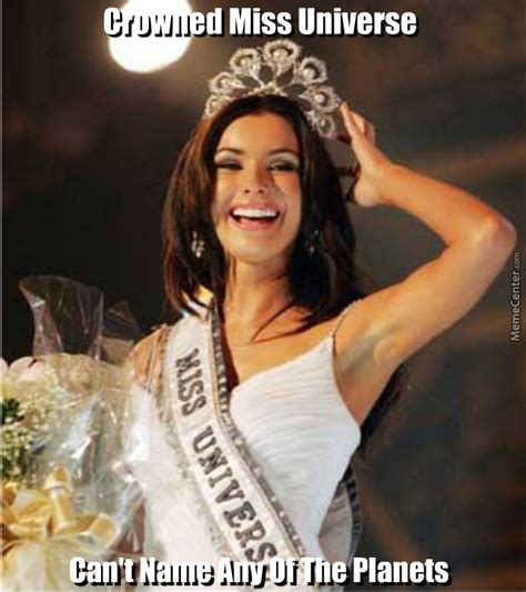 Miss Meme - miss universe by recyclebin meme center