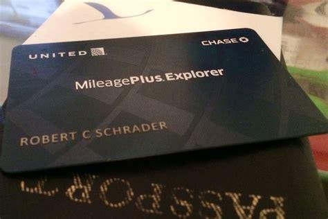 choose  united mileageplus credit card