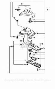 Echo Power Pruner Parts Diagram
