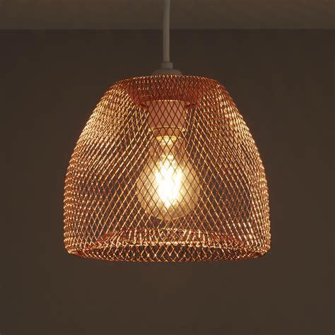 colours gatun copper wire light shade dmm