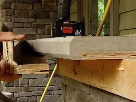 Forming Concrete Countertops In Place by Countertop Diy Tips Ideas Diy