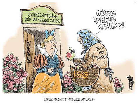 euro bonds aktuelle karikaturen
