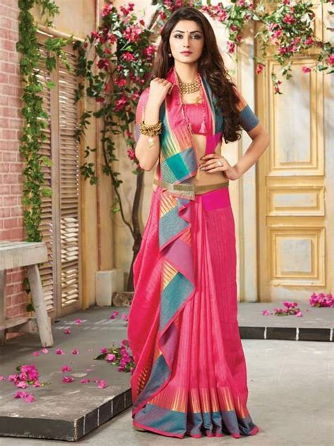 party wear sarees fabric art silk south indian