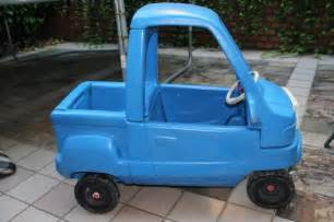 Little Tikes Blue Truck Toy Car
