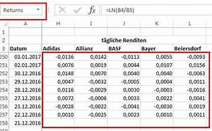 Rendite Aktien Berechnen : portfolio optimierung mit der monte carlo simulation aktienstrategien ~ Themetempest.com Abrechnung