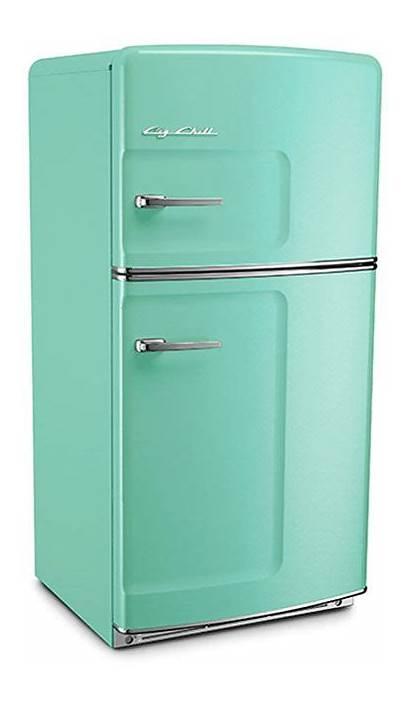 Fridge Refrigerator Retro Kitchen Aqua Pastel Turquoise