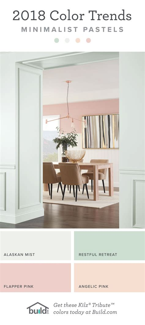 paint color trends minimalist pastels trending paint colors dining room colors paint