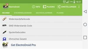 Operationsverstärker Berechnen : electrodroid android apps auf google play ~ Themetempest.com Abrechnung