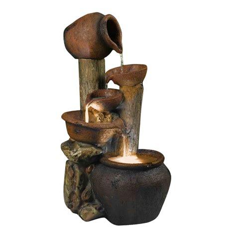 kontiki water features decorative pot fountains pentole