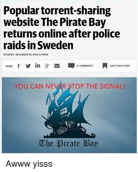 Best Memes Website - 25 best memes about the pirate bay the pirate bay memes