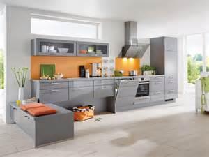 küche grau moderne küche mit kochinsel möbel mit