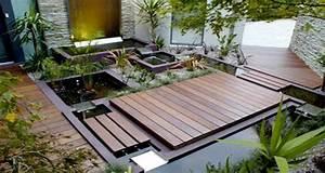 6 amenagements de terrasse a la deco charmante With exceptional photo amenagement terrasse exterieur 10 cuisine verte pas cher