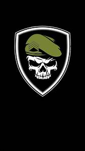 Military Skull Wallpaper By Chicovibe - 4a