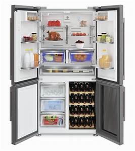 Kühlschrank Mit Weinfach : side by side k hlschrank mit integriertem weink hler ~ Watch28wear.com Haus und Dekorationen