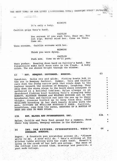 Script Example Template Storyboard Sample A2