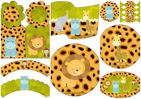 beb 233 s de la jungla mini kit para imprimir gratis selva imprimir sobres imprimir gratis y bebe