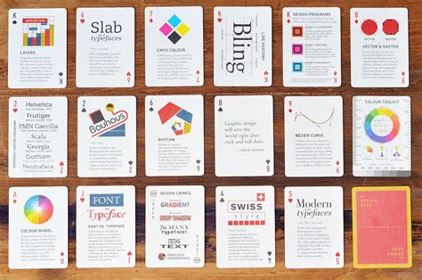 chance  design deck playing cards  designers