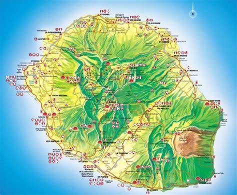 La Réunion Carte Géographique Monde by Carte G 233 Ographique De La R 233 Union