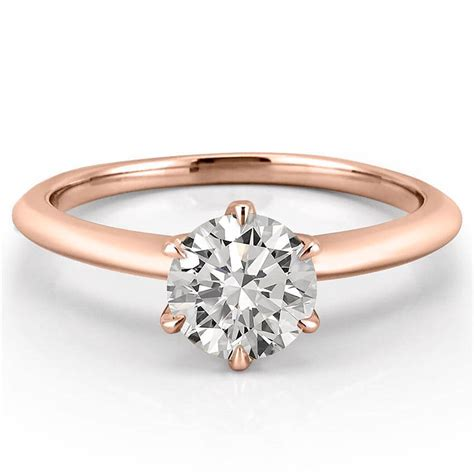 six prong engagement ring six prong solitaire ring do