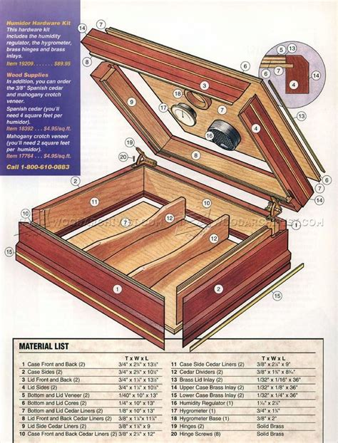 making cigar humidor woodworking plans woodworking