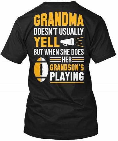 Football Shirts Grandma Fan Shirt Mom Biggest