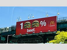 McDonalds 100% Beef Taken right after exiting the GWB
