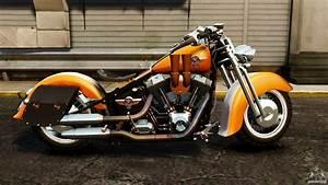 Harley Fat Boy : harley davidson fat boy lo vintage for gta 4 ~ Medecine-chirurgie-esthetiques.com Avis de Voitures