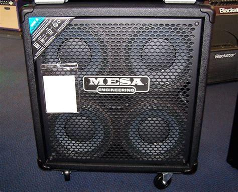 mesa boogie bass cabinet mesa boogie 410 powerhouse standard bass cabinet reverb