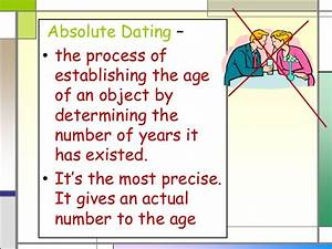 Absolute age dating is based on