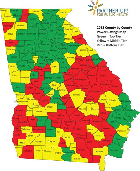 rural counties ailing  suburban  thrive georgia