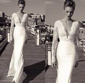 Tight long sleeved lace wedding dress wedding for Long sleeve tight wedding dresses