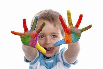 Child Youth Hands Paint Development Program Open