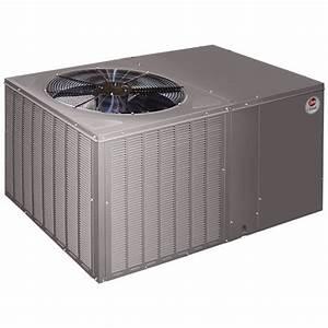 Rheem 14 Seer 5 0 Ton Heat Pump Package Unit Horizontal In