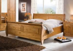 massivholz schlafzimmer komplett massivholz bett 180x200 holzbett doppelbett honig kiefer massiv