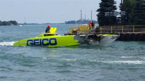 Hammer Down Boating by Bad Day For Official Miss Geico Racing Hammer Down