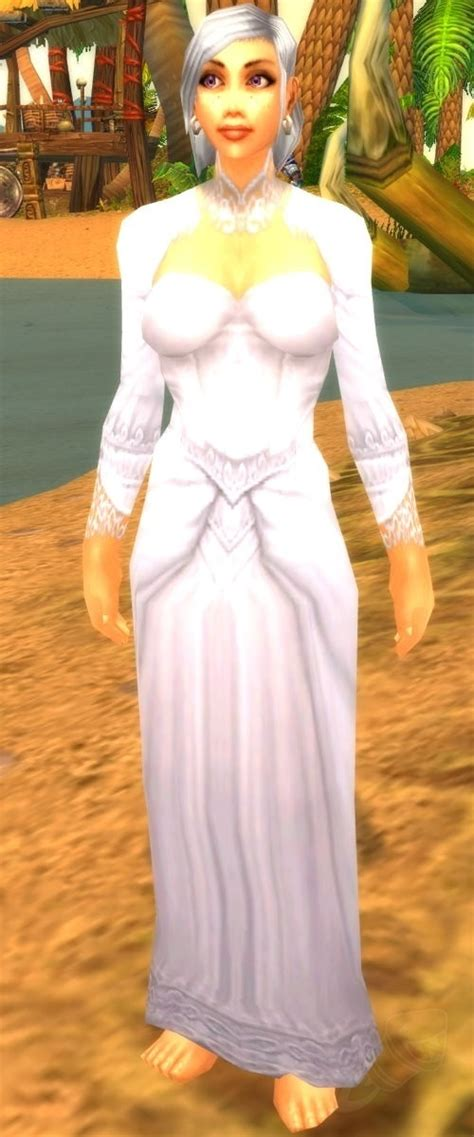 pattern white wedding dress item world  warcraft