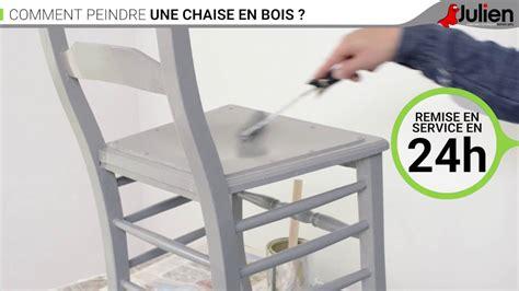comment peindre une chaise en bois peintures julien