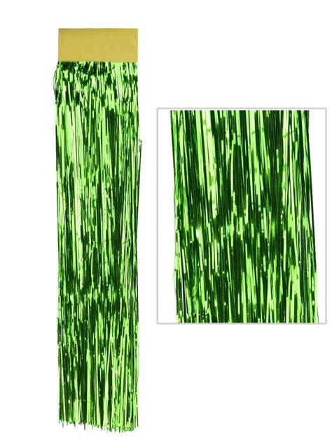 emerald green lametta tinsel icicles 300 strands