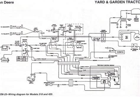 deere gt235 wiring diagram wiring