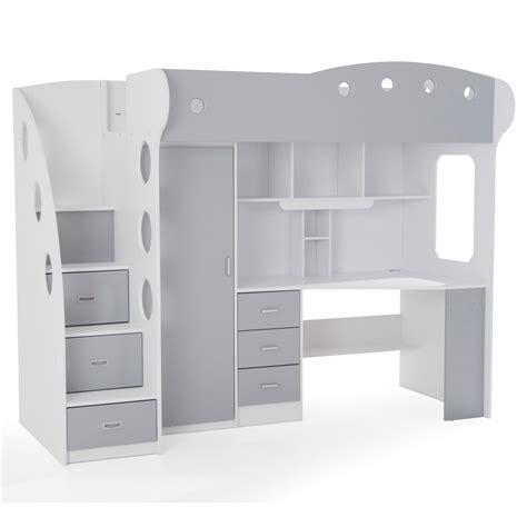 lit avec bureau lit avec tiroirs de rangement reverba com