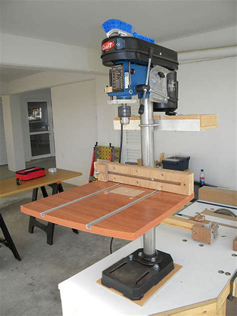 improving  bench top drill press  steliart