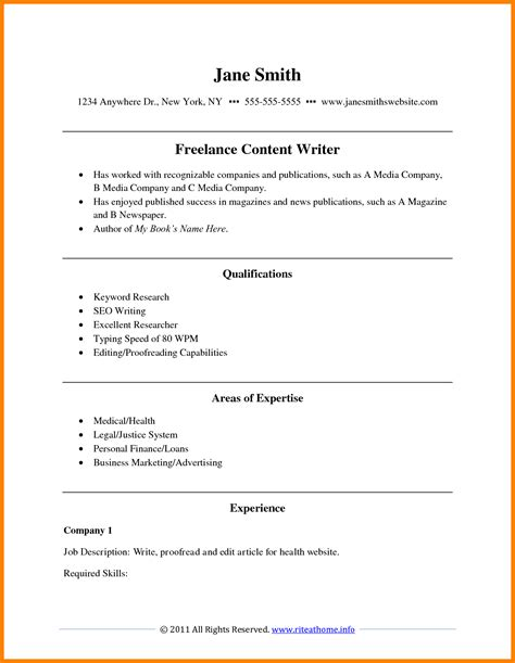 Format For Writing Cv by 6 Cv Resume Writing Theorynpractice