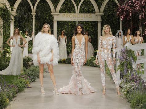 bloom pronovias fashion show