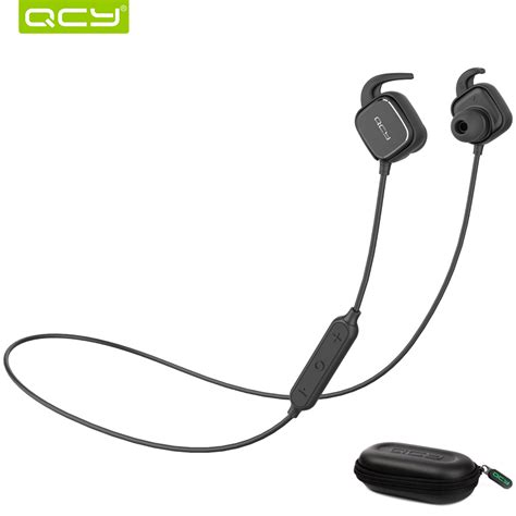 qcy qy12 bluetooth earphone qcy qy12 sports bluetooth earphone magnet switch wireless