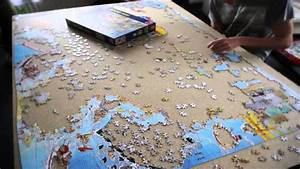 5000 pieces puzzle in 30 seconds youtube With tapis puzzle 5000 pieces