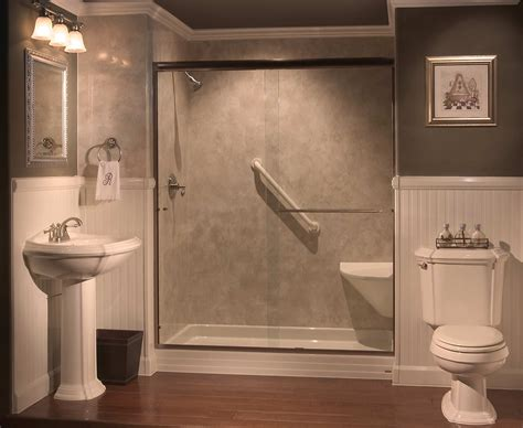 showers  seats built  tub  shower conversions bathrooms   tub  shower