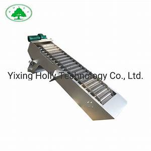China Waste Water Treatment Solids Filtering Bar Screen
