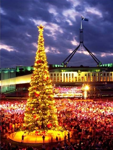 christmas in canberra australia aussie christmas pinterest