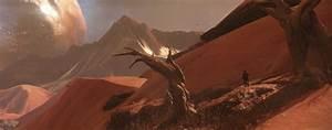 Destiny Artwork Shows The Moon Mars Landscapes VG247