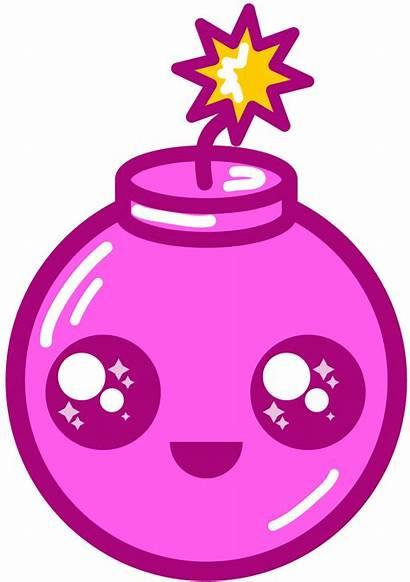 Bomb Clipart Pink Clip Transparent Arts Webstockreview